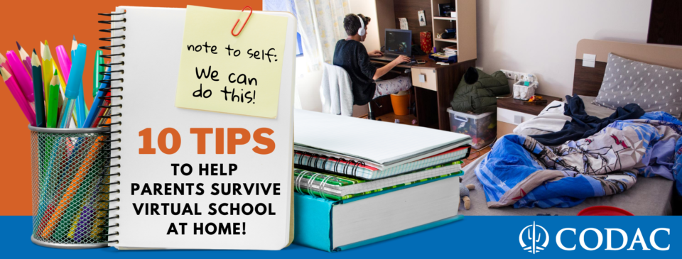 10 Tips to Help Parents Survive Virtual School at Home