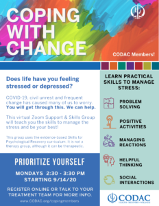 Coping with Change Group for Members